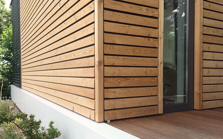 CUBIG Fassade Holzbau