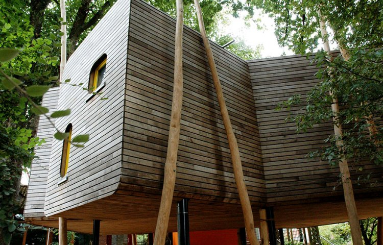 CUBIG Holzbauweise Anbau
