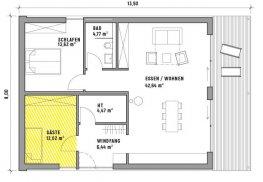 CUBIG Minihaus Grundriss