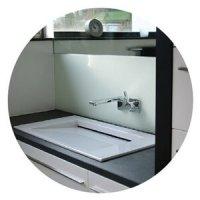 CUBIG Mikrohaus Badezimmer