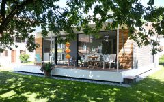 CUBIG Minihaus Terrasse