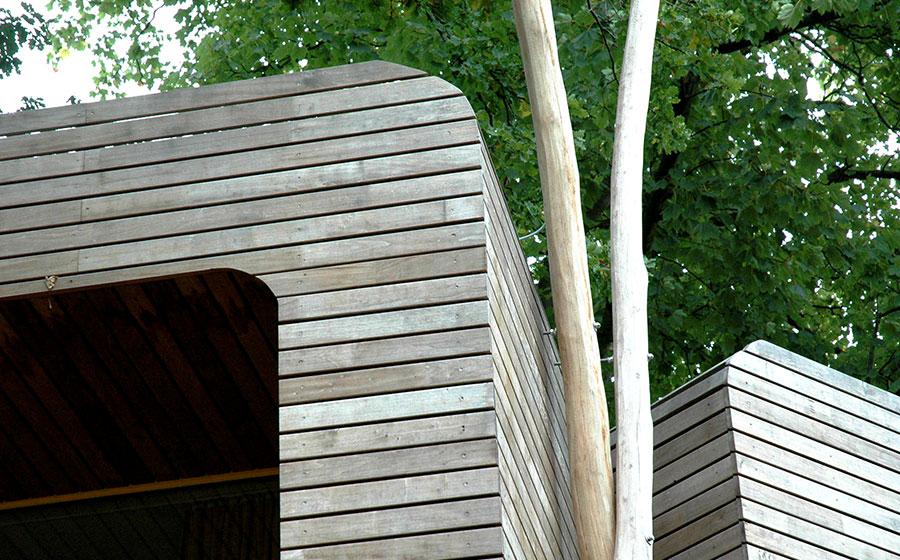 CUBIG Anbau Holzfassade
